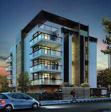 Apartment with Private open terrace and 2 family rooms @ Nungambakkam