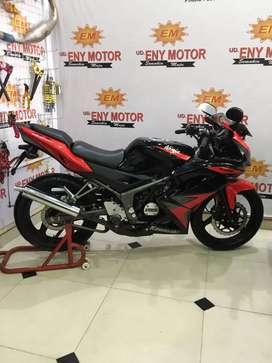 Kawasaki ninja krr150 Thun 2014 mulus