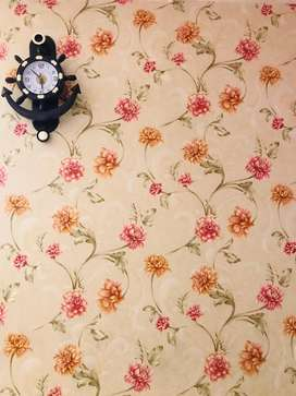 Imported Floral  wallpaper