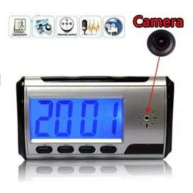 YYS Kamera Pengintai Jam Digital 720P Motion Sensor dengan Remot