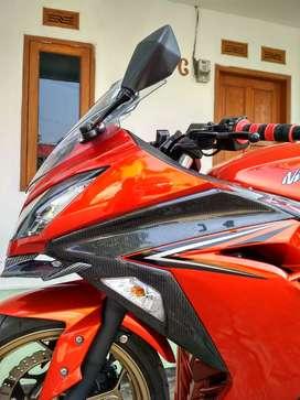 Ninja 250 FI 2017 Km 7 rbu Variasi, Rare colour !!!