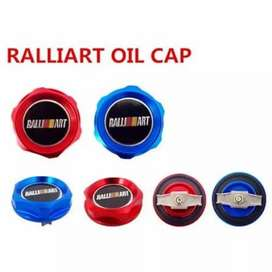 Tutup oli ralliart oil cap ralliart