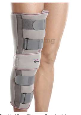Tynor Knee immobilizer  size L  Rs 300 only; Condition : once used.