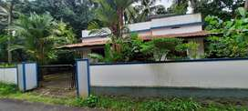 11.27 cent land n house in punkunnam, 8L per cent