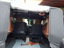 Forward Facing Backseat Seat for Thar CRDe and other Jeeps