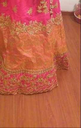 Bridal lehenga on rent or purchase