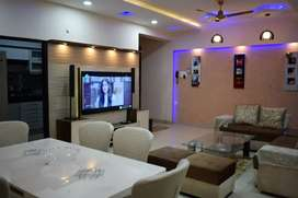 Ready to move full furnished 3BHK-1860sqft flat at Rs.75 Lacs