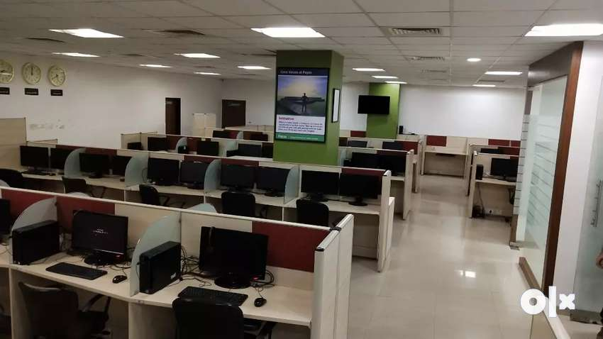FURNISHED OFFICE ON RENT IN MAHAPE building 0
