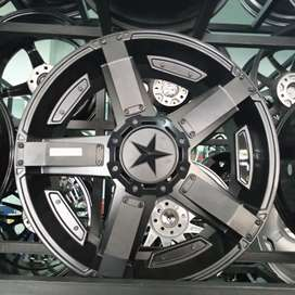 Velg mobil ring 20 hsr wheel untuk pajero triton hilux cicilan 0% hci