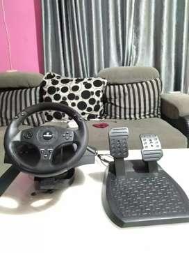 Setir ps 4 dan gas(trushmaster T80) club driver limited edition