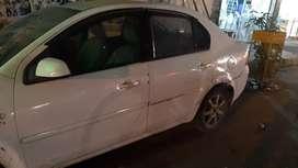 Fordfista white car