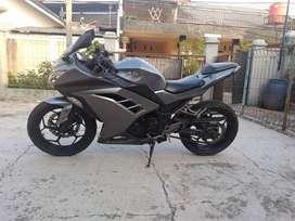 Ninja 250 FI 2013, Cash- Kredit, Dp 5 Jt