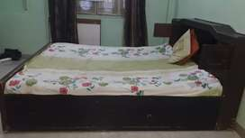 Double bed for sale without mattress