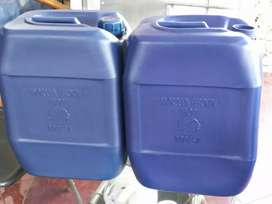 Jerigen kotak air/kimia 35ltr Baru,grosir saja no eceran