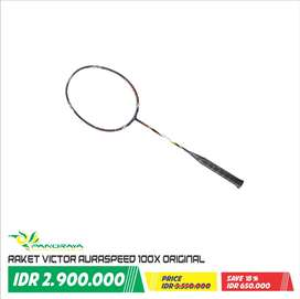 Raket Badminton Bulutangkis Victor AuraSpeed 100X Original