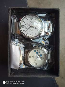 2 pc combo wrist watches at the rate of one @500 only.