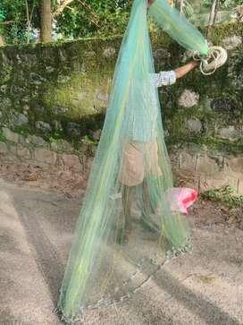 വീശുവല, ഏഴു മുളം, fishing net