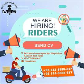 Riders for Multan Delivery Services