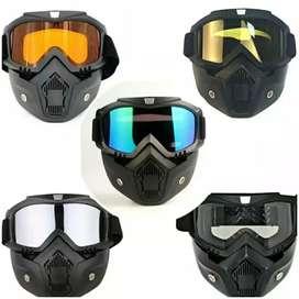[COD] Goggle mask outdoor kacamata helm