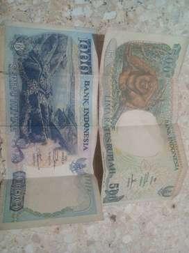 Uang kuno hanya 2 lembar