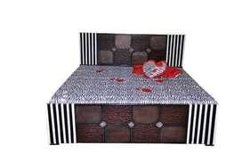 New designer Double bed very minmum price