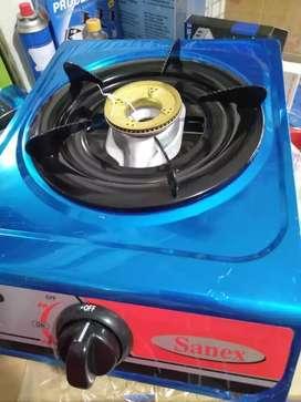 FreeOngkir seYK-kompor gas 1 tungku sanex baru garansi burner kuninga