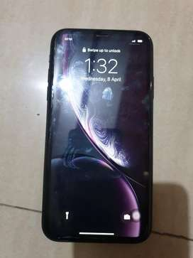 Iphone xr 1 year old for sell...rear camera lens and body damage
