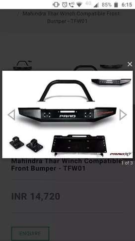 Thar front prad bumper