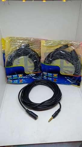 Perpanjangan kabel 3.5mm AUX Audio 5m