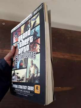 GTA San Andreas Official Strategy Guide book
