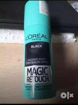 L'Oréal Paris instant color spray for hair (BLACK) @ 400 only