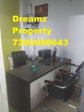 Furnished office space munshipulia Indira Nagar Lucknow