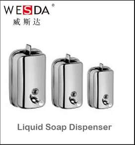Dispener for soap sanitize stainless steel wesda