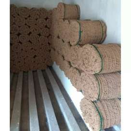 Coconut curled coir rope