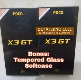 POCO X3 GT 8/256 Garansi Resmi (Bonus TG dan Softcase)