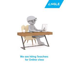 Computer science teachers required for online class