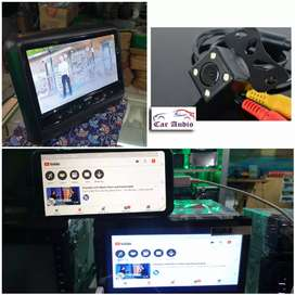 2Din Sansui SA-5202i FullGlass + Kamera Mundur + Clip ON ORCA 9 Inch