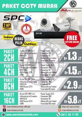 Paket CCTV MURAH, SPC mobile!