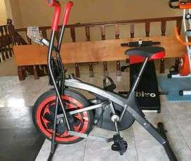 red bike statis dual fungsi