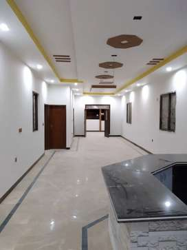 Brand new 4 bed DD with roof johar block 7 2nd floor available