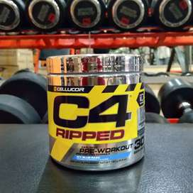 Cellucor C4 Ripped 30 serving 30s pre workout fat burner PWO