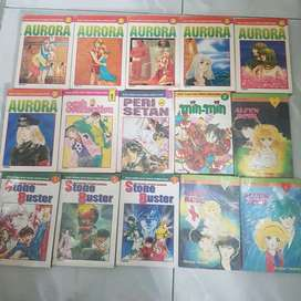 Jual komik 1 set 15 pcs