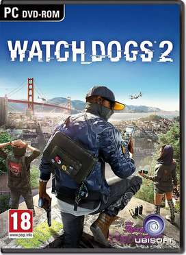 Watch dog 2  pc games available(negotiable)
