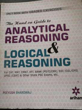 Logical reasoning and analytical reasoning by Arihant.