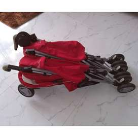 stroller silver cross pop duo twin-stroller kembar