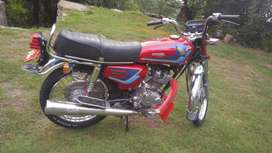 Honda 125 in Rawalpindi nmbr