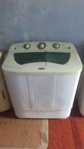 Jual Mesin Cuci 2tabung Merk SANKEN low watt 8kg.BANJARBARU.