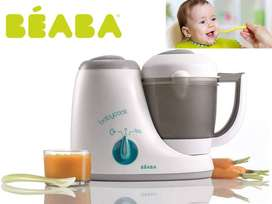 Beaba 4 in 1 Healthy Baby Food Maker Steamer and Blender Avent Tommee