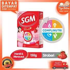 SGM Bunda 150g-Rasa Stroberi-Susu Hamil dan Menyusui-Bumil-Busui-Murah