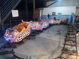 ER3 mainan labirin run mini coaster rel naik turun